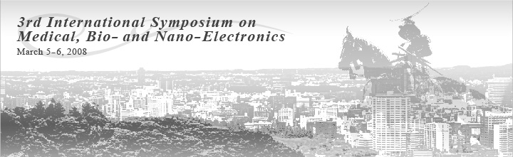 International Symposium on Bio- and Nano-Electronics in Sendai